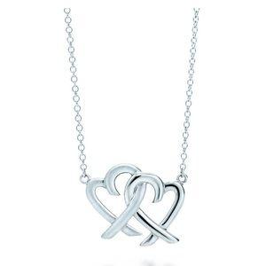 Tiffany & co Paloma Picasso hearts necklace